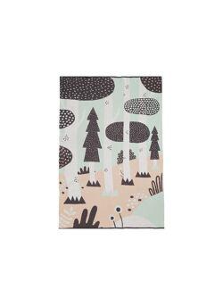 Plaid Magic forest  pas