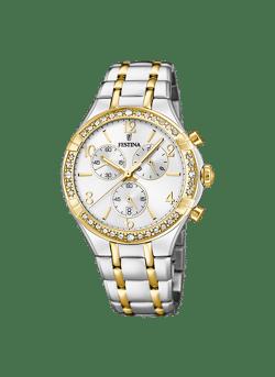 Chronograaf dames horloge