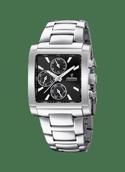 Vierkant Timeless chrono horloge