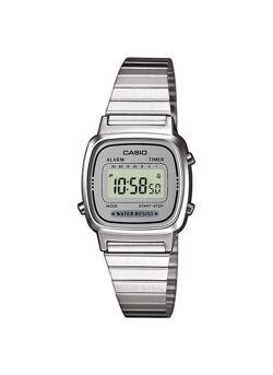 Casio Collection LA670WEA-7EF - Horloge - Staal - Zilverkleurig - Ø 25 mm