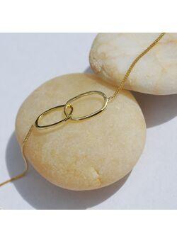 Lies Maris 18kt gouden armband ovalen