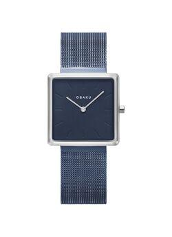 Obaku vierkant dames uurwerk - V236LXHLML