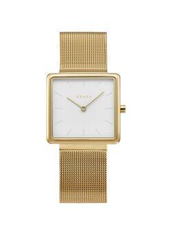 Obaku vierkant dames uurwerk - V236LXGIMG