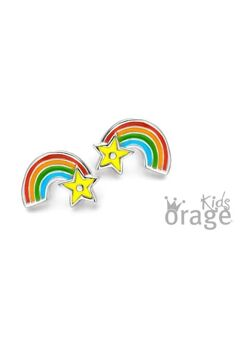 Oorbellen regenboog