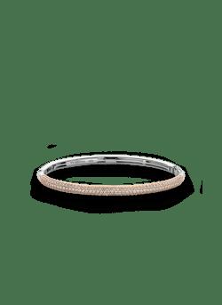 Zilveren armband rosé verguld