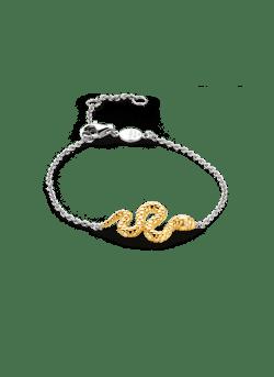 Armband met slang