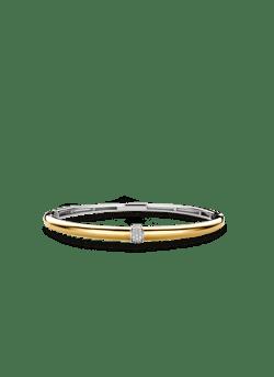 Esclave armband zilver - verguld