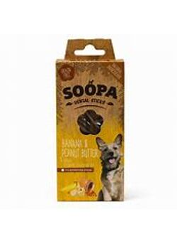 Soopa dental sticks banana & sweet potatoe