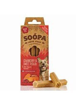 Soopa : Dental sticks : Cranberry & Sweet potato