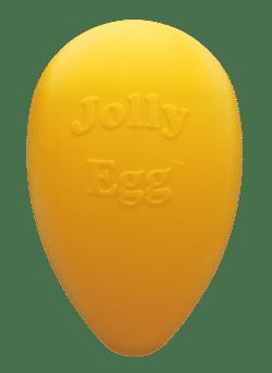 Jolly egg 20 cm geel