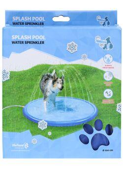 Splash pool water sprinkler