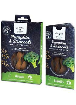Go Native : Dental : Pumpkin & Broccoli Sticks