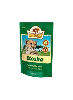 Wildcat : Natvoer : Etosha