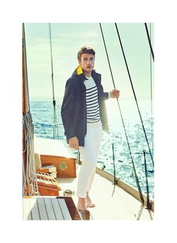 Sailing coat Faconnable