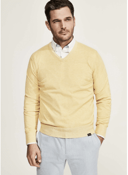 Pull Faconnable Cashmere/cotton