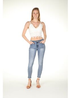 Top bustier kant