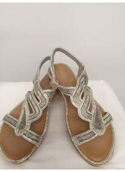 sandal trou/strass/tubbes