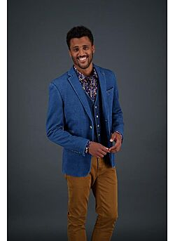 blazer washed indigo -92.01.103