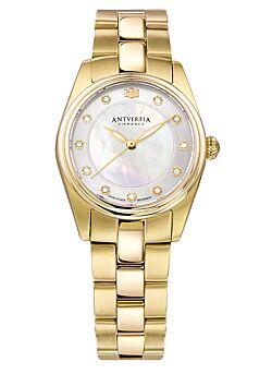 Horloge met 11 diamanten