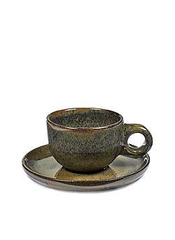 Koffietas met ondertas