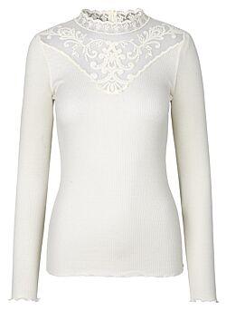 Rosemunde - Lace Top - Ivorywhite
