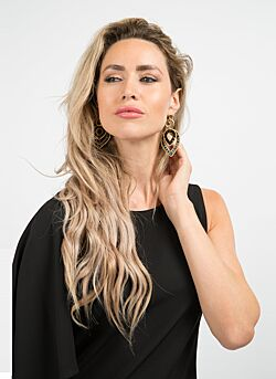 Melz - Zurich Earring - Black