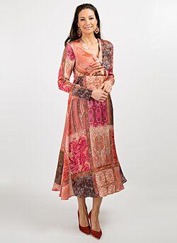 Gustav - Lange jurk - Multicolour