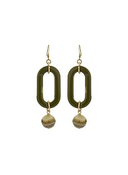 Due Amanti - Earrings Espinal - Khaki