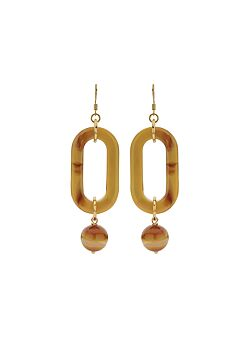 Due Amanti - Earrings Espinal - Ochre