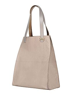 Gustav - Handbag Leather - Beige