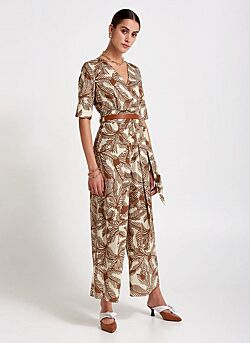 Beatrice - Jumpsuit - Brown