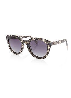 Ikki - Zonnebril Nola - Zwart Gevlamd