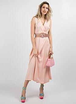 Relish - Long Dress Hungary - Light Pink