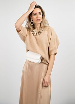 Amaya - Knitwear Lola - Nude