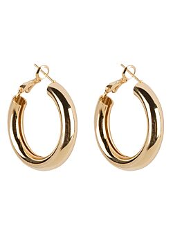 Club Manhattan - Earrings Coco Hoops Small - Gold