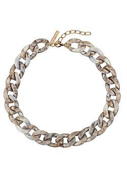 Club Manhattan - Necklace Tortoise Chain - Sand
