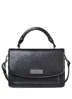 Rosemunde - Handbag Python Print - Black