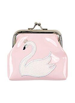 Wallet Swan, lichtroze