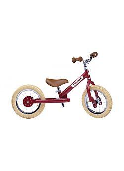 Trybike Metaal vintage rood, 2 wieler