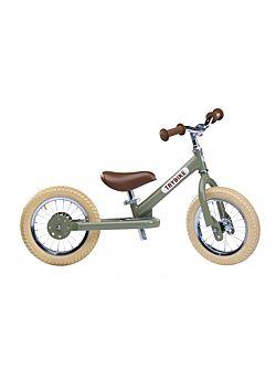 Trybike Metaal vintage groen, 2 wieler