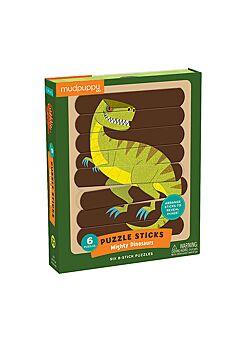 Puzzel Machtige Dinosaurussen - 24 langwerpige stukken