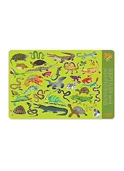 Placemat Reptielen & Amfibieën