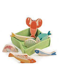 Mandje met vis