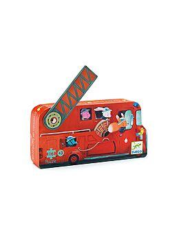 Puzzel Brandweerwagen - 16 stukken