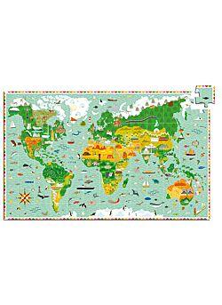 Puzzel Rond de Wereld - 200 stukken