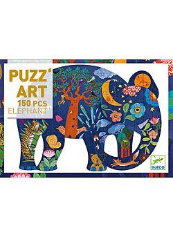 Puzzel Olifant - 150 stukken