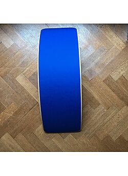 Wobbel Original Transparant Gelakt - Koningsblauw vilt