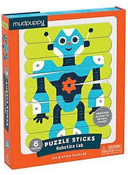 Puzzel Robotics Lab - 24 langwerpige stukken