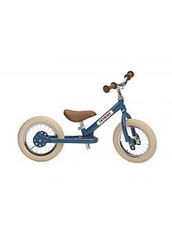 Trybike Metaal vintage blauw, 2 wielerr