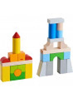 Bouwstenen - Basispakket, gekleurd (28 blokken)
